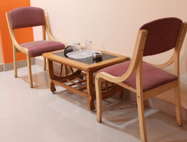 Hotel Sukh Sagar Somnath Seating